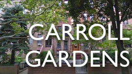 Carroll Gardens Brooklyn