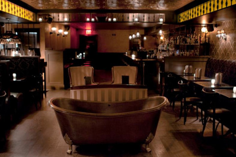 Bathtub gin bar New York