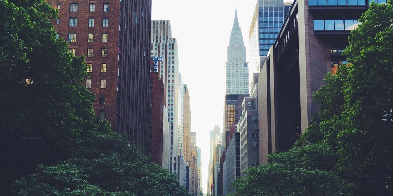 Bairro Midtown em Nova York