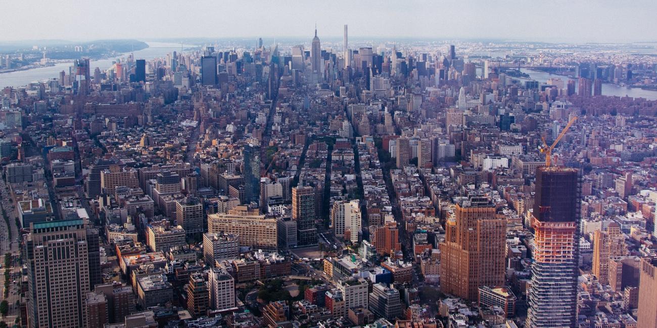Vista desde el observatorio en Nueva York