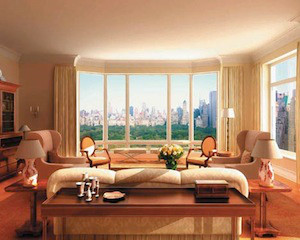 Rent a penthouse in New York