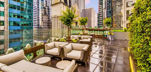 O bar com terraço st Cloud Rooftop